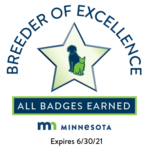 MN Breeder of Excellence Badge